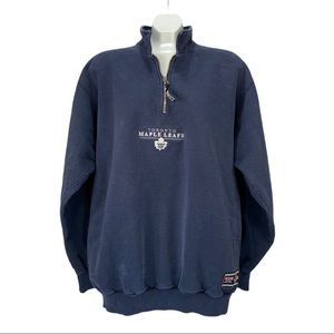 CCM Toronto Maple Leafs Blue Pullover Sweater